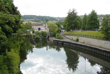 Avon through Bath