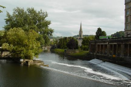 Weir in Bath