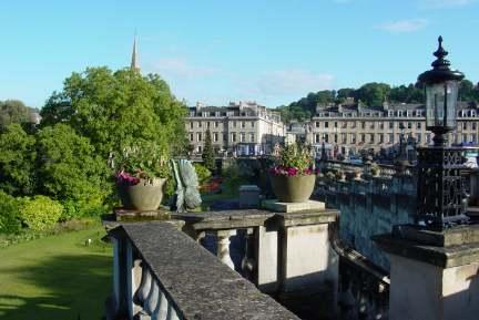 View centre of Bath