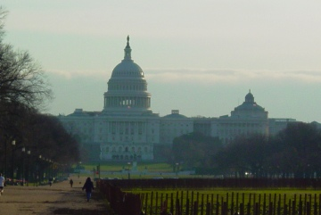 US Capitol Building, early morning, Nov. 21, 2006