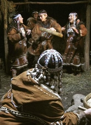 Reuters Photo:  A cultural performance is seen in Pimchakh, 40 km (25 miles) from regional capital Petropavlovsk-Kamchatsky